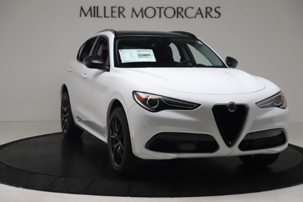 New 2020 Alfa Romeo Stelvio Sport Q4 for sale $50,195 at Maserati of Greenwich in Greenwich CT 06830 11