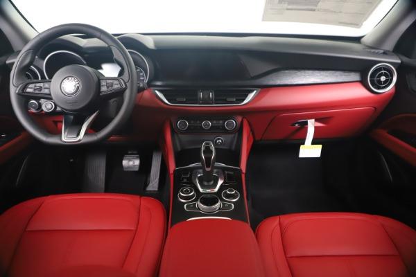 New 2020 Alfa Romeo Stelvio Sport Q4 for sale $50,195 at Maserati of Greenwich in Greenwich CT 06830 16