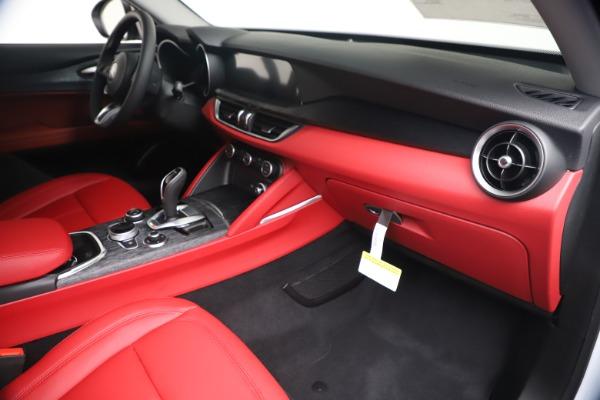 New 2020 Alfa Romeo Stelvio Sport Q4 for sale $50,195 at Maserati of Greenwich in Greenwich CT 06830 22