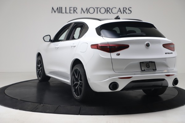 New 2020 Alfa Romeo Stelvio Sport Q4 for sale $50,195 at Maserati of Greenwich in Greenwich CT 06830 5