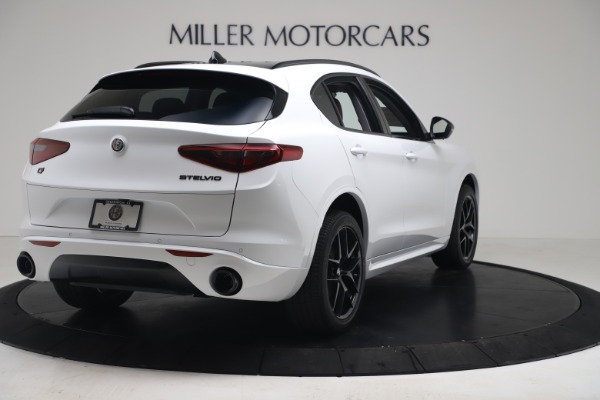 New 2020 Alfa Romeo Stelvio Sport Q4 for sale $50,195 at Maserati of Greenwich in Greenwich CT 06830 7