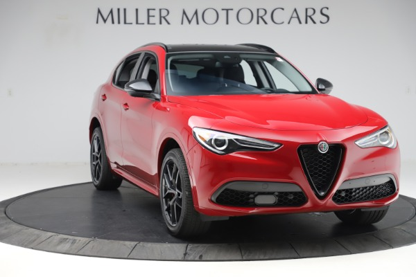 New 2020 Alfa Romeo Stelvio Sport Q4 for sale $50,495 at Maserati of Greenwich in Greenwich CT 06830 11
