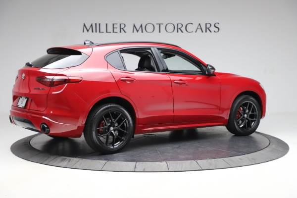 New 2020 Alfa Romeo Stelvio Sport Q4 for sale $50,495 at Maserati of Greenwich in Greenwich CT 06830 8