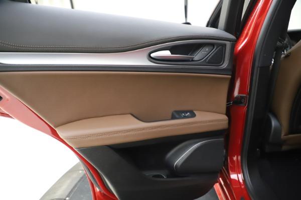 New 2020 Alfa Romeo Stelvio Ti Sport Q4 for sale Sold at Maserati of Greenwich in Greenwich CT 06830 21