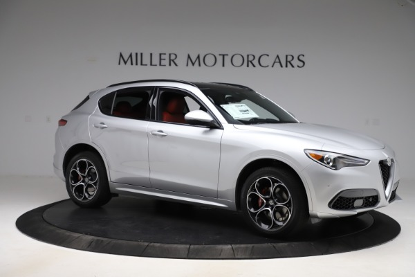 New 2020 Alfa Romeo Stelvio Ti Sport Q4 for sale Sold at Maserati of Greenwich in Greenwich CT 06830 10