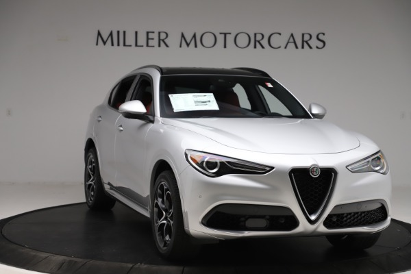 New 2020 Alfa Romeo Stelvio Ti Sport Q4 for sale Sold at Maserati of Greenwich in Greenwich CT 06830 11