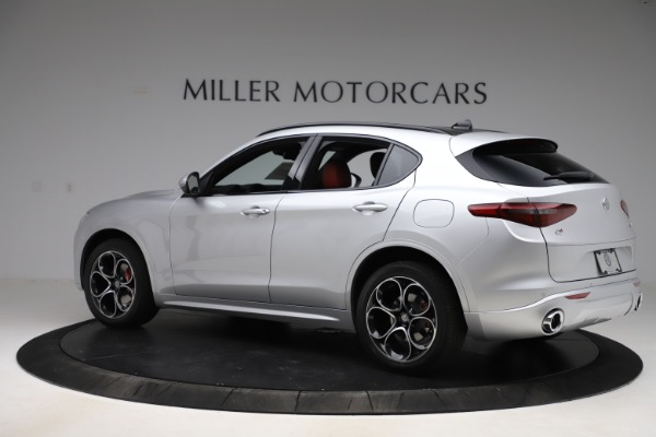 New 2020 Alfa Romeo Stelvio Ti Sport Q4 for sale Sold at Maserati of Greenwich in Greenwich CT 06830 4