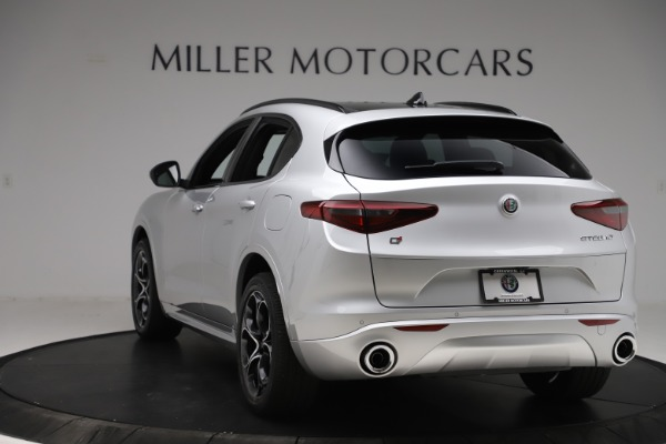 New 2020 Alfa Romeo Stelvio Ti Sport Q4 for sale Sold at Maserati of Greenwich in Greenwich CT 06830 5