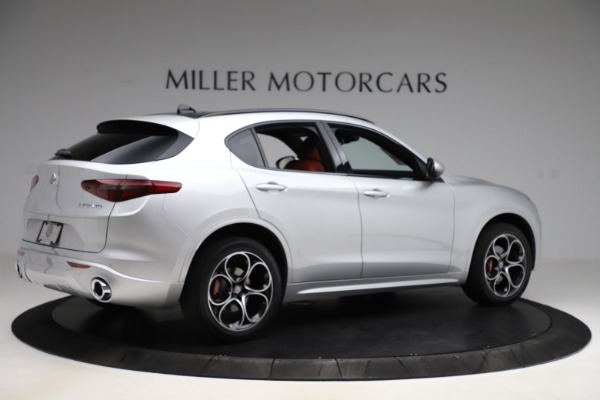 New 2020 Alfa Romeo Stelvio Ti Sport Q4 for sale Sold at Maserati of Greenwich in Greenwich CT 06830 8