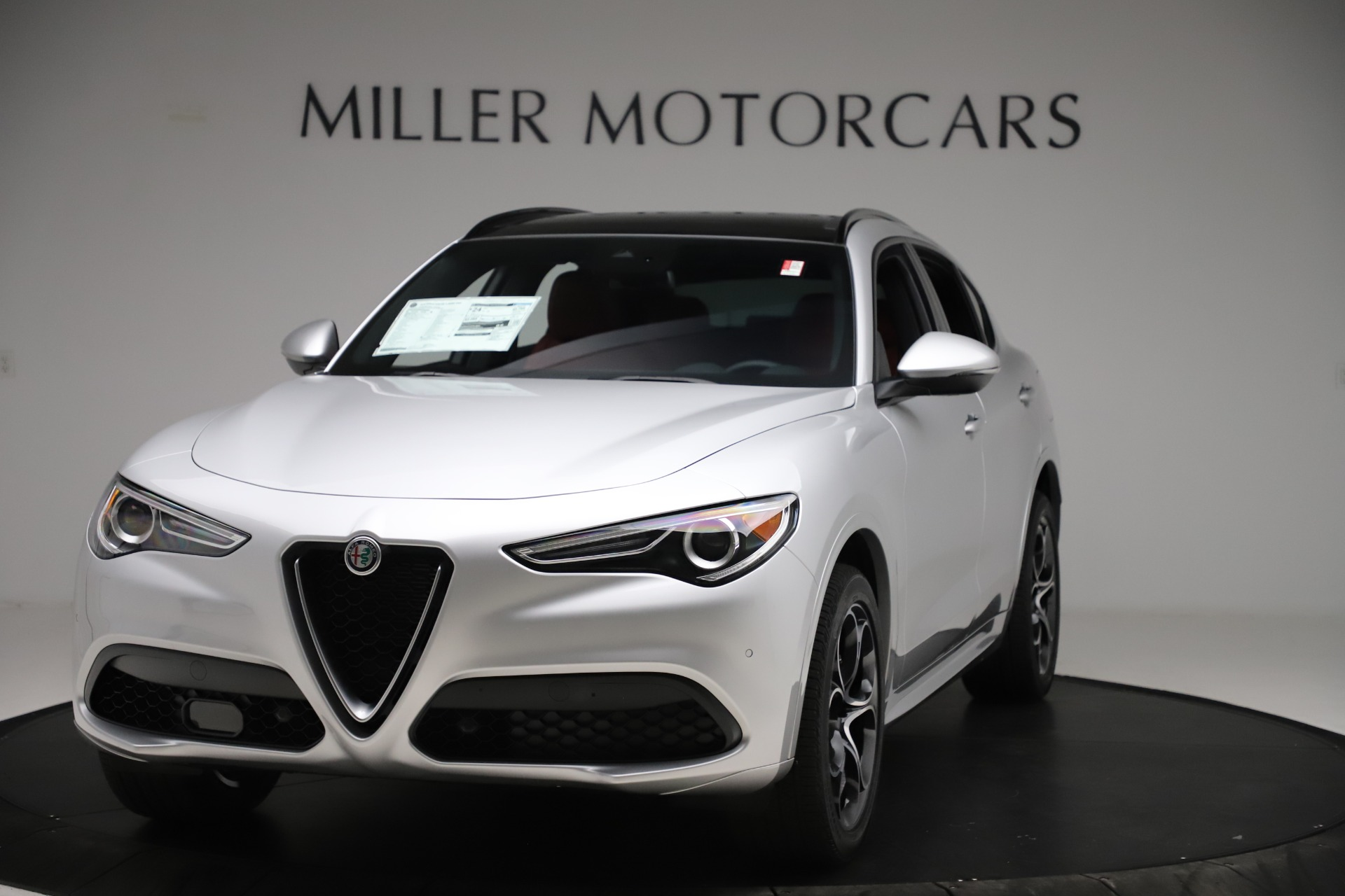 New 2020 Alfa Romeo Stelvio Ti Sport Q4 for sale Sold at Maserati of Greenwich in Greenwich CT 06830 1