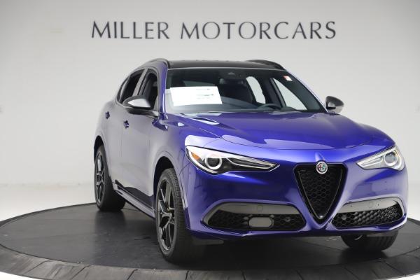 New 2020 Alfa Romeo Stelvio Ti Sport Q4 for sale Sold at Maserati of Greenwich in Greenwich CT 06830 11
