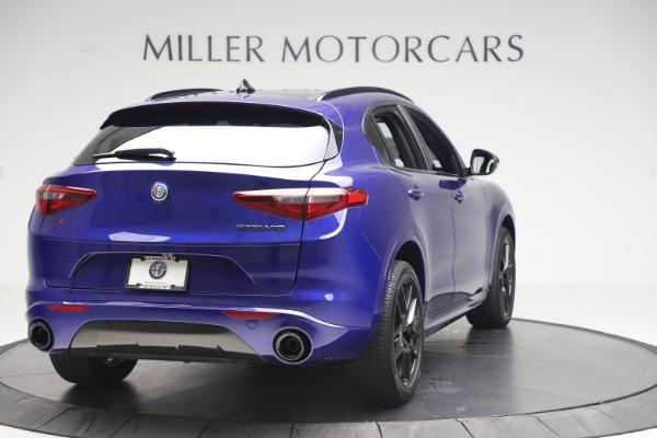 New 2020 Alfa Romeo Stelvio Ti Sport Q4 for sale Sold at Maserati of Greenwich in Greenwich CT 06830 7