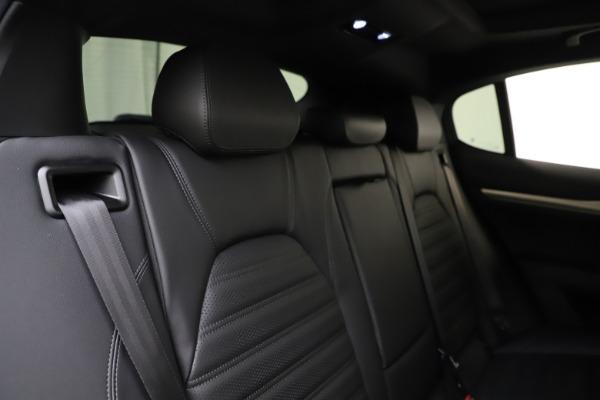 New 2020 Alfa Romeo Stelvio Ti Sport Q4 for sale Sold at Maserati of Greenwich in Greenwich CT 06830 26