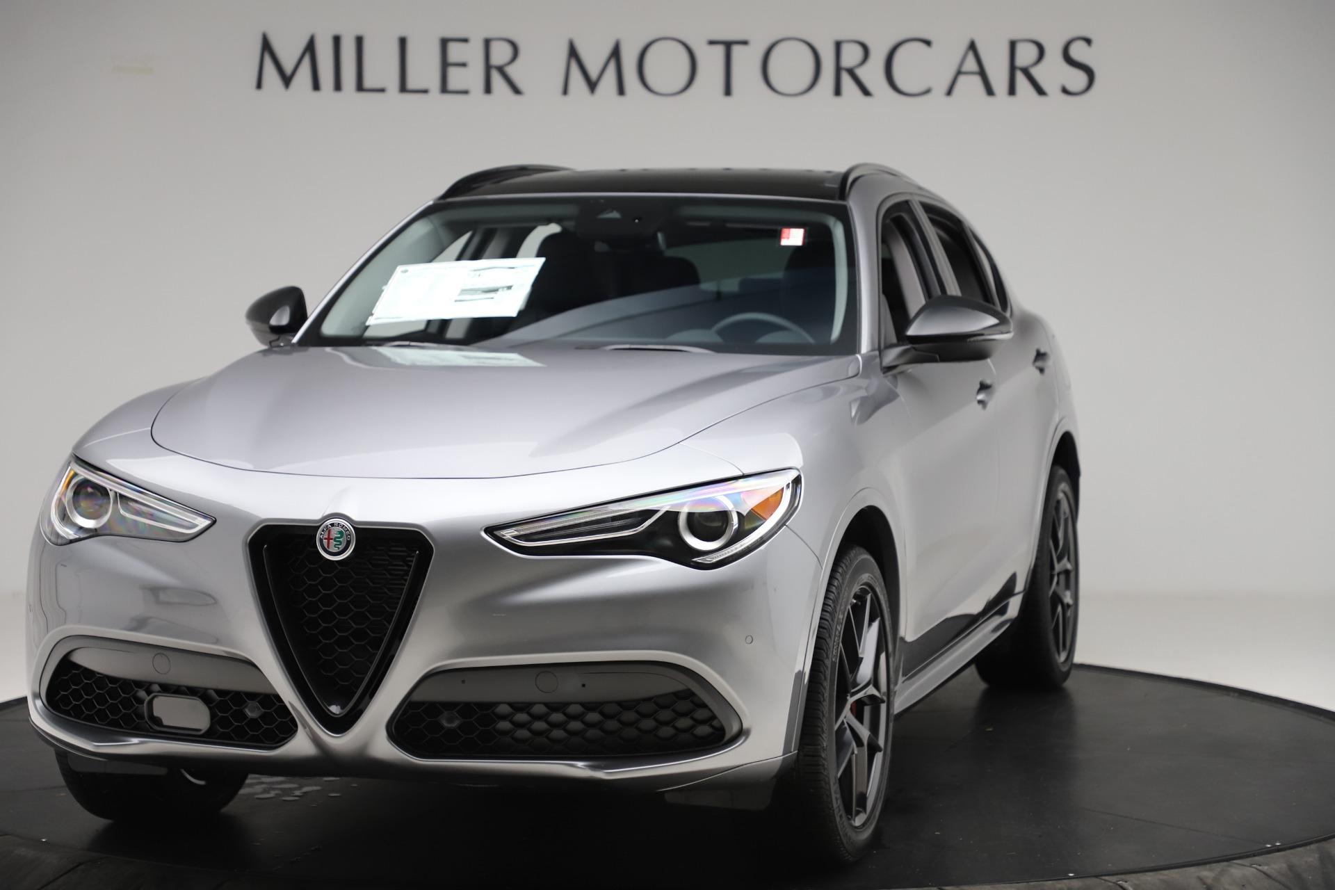 New 2020 Alfa Romeo Stelvio Sport Q4 for sale $51,095 at Maserati of Greenwich in Greenwich CT 06830 1