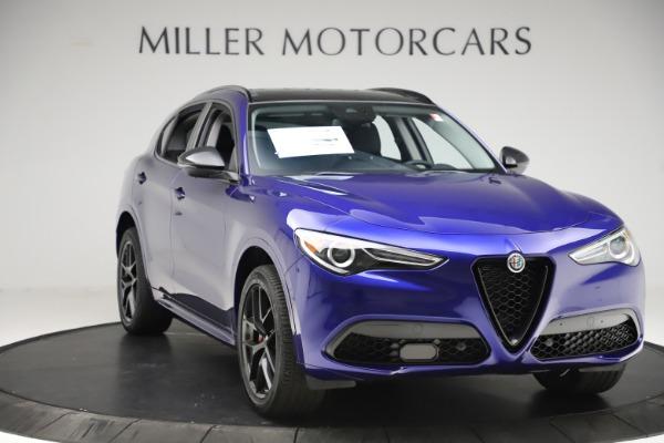 New 2020 Alfa Romeo Stelvio Ti Q4 for sale Call for price at Maserati of Greenwich in Greenwich CT 06830 11