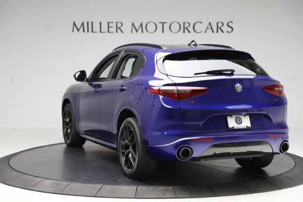 New 2020 Alfa Romeo Stelvio Ti Q4 for sale Call for price at Maserati of Greenwich in Greenwich CT 06830 5