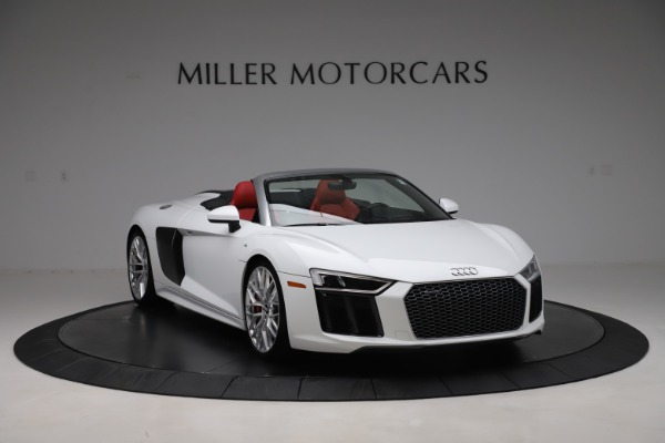 Used 2017 Audi R8 5.2 quattro V10 Spyder for sale Call for price at Maserati of Greenwich in Greenwich CT 06830 11
