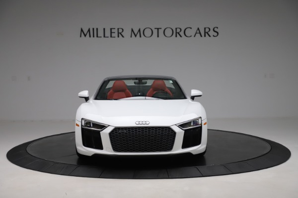 Used 2017 Audi R8 5.2 quattro V10 Spyder for sale Call for price at Maserati of Greenwich in Greenwich CT 06830 12