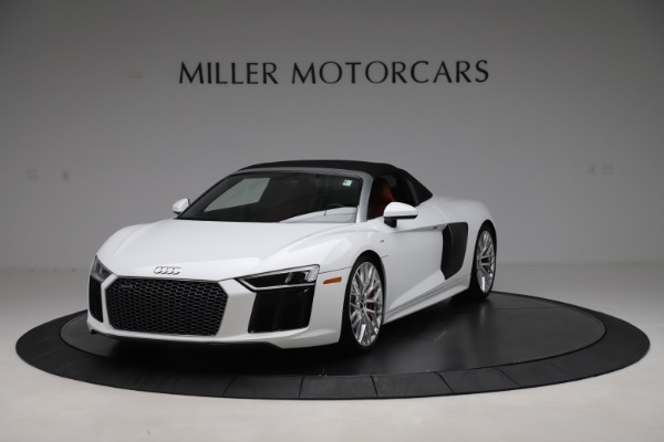 Used 2017 Audi R8 5.2 quattro V10 Spyder for sale Call for price at Maserati of Greenwich in Greenwich CT 06830 13