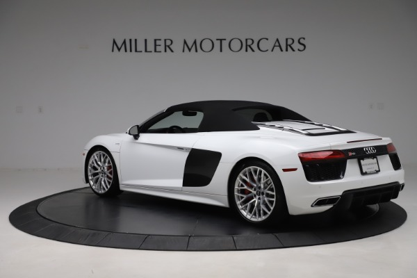 Used 2017 Audi R8 5.2 quattro V10 Spyder for sale Call for price at Maserati of Greenwich in Greenwich CT 06830 15
