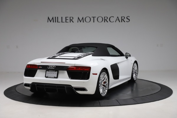 Used 2017 Audi R8 5.2 quattro V10 Spyder for sale Call for price at Maserati of Greenwich in Greenwich CT 06830 16