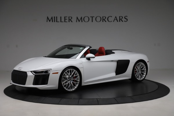 Used 2017 Audi R8 5.2 quattro V10 Spyder for sale Call for price at Maserati of Greenwich in Greenwich CT 06830 2