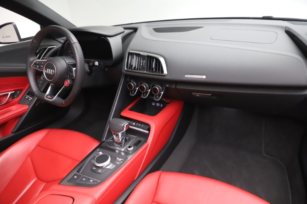 Used 2017 Audi R8 5.2 quattro V10 Spyder for sale Call for price at Maserati of Greenwich in Greenwich CT 06830 23