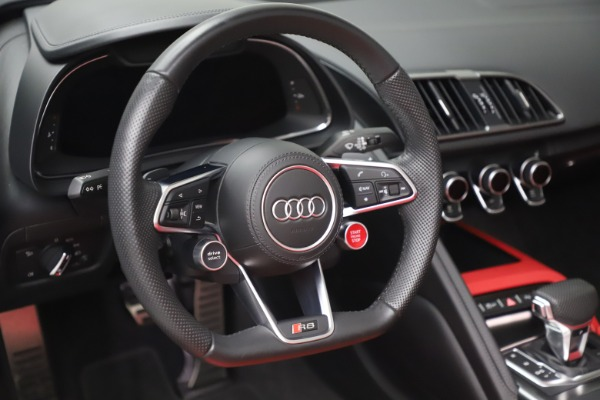 Used 2017 Audi R8 5.2 quattro V10 Spyder for sale Call for price at Maserati of Greenwich in Greenwich CT 06830 26
