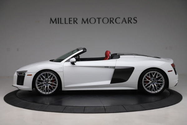 Used 2017 Audi R8 5.2 quattro V10 Spyder for sale Call for price at Maserati of Greenwich in Greenwich CT 06830 3