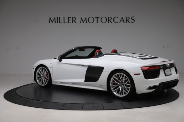 Used 2017 Audi R8 5.2 quattro V10 Spyder for sale Call for price at Maserati of Greenwich in Greenwich CT 06830 4