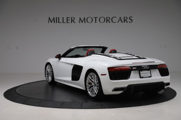 Used 2017 Audi R8 5.2 quattro V10 Spyder for sale Call for price at Maserati of Greenwich in Greenwich CT 06830 5