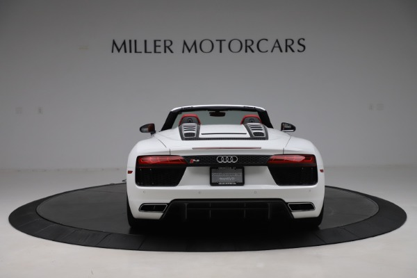 Used 2017 Audi R8 5.2 quattro V10 Spyder for sale Call for price at Maserati of Greenwich in Greenwich CT 06830 6