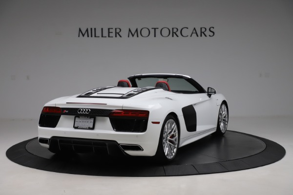 Used 2017 Audi R8 5.2 quattro V10 Spyder for sale Call for price at Maserati of Greenwich in Greenwich CT 06830 7