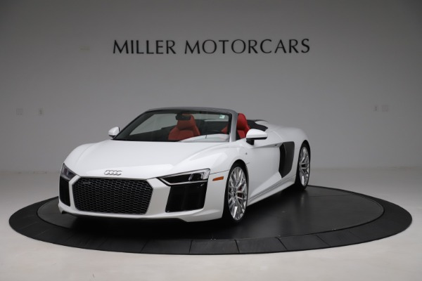 Used 2017 Audi R8 5.2 quattro V10 Spyder for sale Call for price at Maserati of Greenwich in Greenwich CT 06830 1