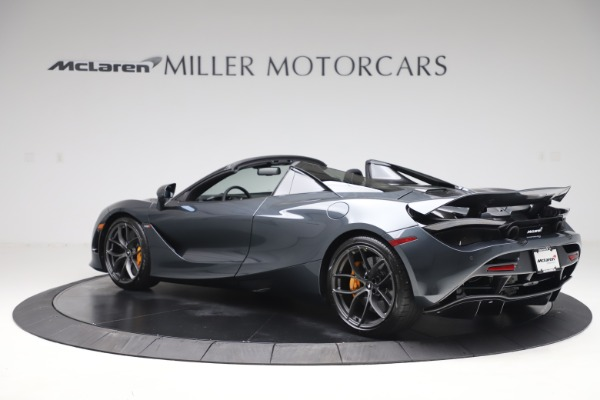 New 2020 McLaren 720S Spider Performance for sale $384,930 at Maserati of Greenwich in Greenwich CT 06830 3