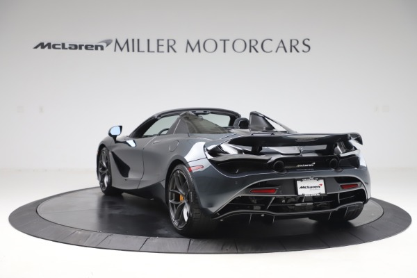 New 2020 McLaren 720S Spider Performance for sale $384,930 at Maserati of Greenwich in Greenwich CT 06830 4