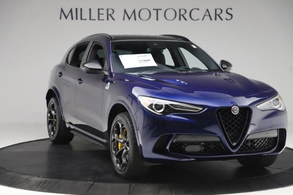 New 2020 Alfa Romeo Stelvio Quadrifoglio for sale $88,845 at Maserati of Greenwich in Greenwich CT 06830 11
