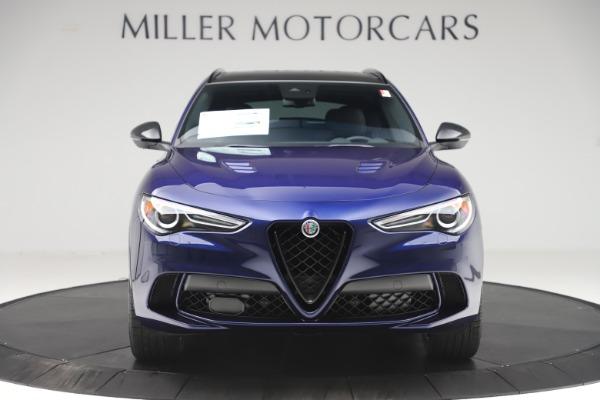 New 2020 Alfa Romeo Stelvio Quadrifoglio for sale $88,845 at Maserati of Greenwich in Greenwich CT 06830 12