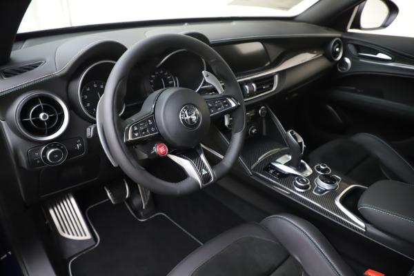 New 2020 Alfa Romeo Stelvio Quadrifoglio for sale $88,845 at Maserati of Greenwich in Greenwich CT 06830 13