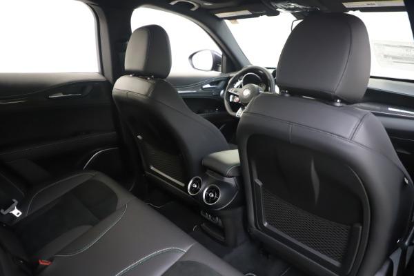 New 2020 Alfa Romeo Stelvio Quadrifoglio for sale $88,845 at Maserati of Greenwich in Greenwich CT 06830 28