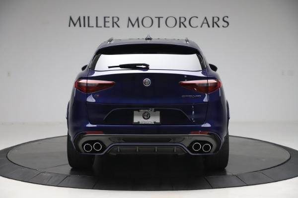 New 2020 Alfa Romeo Stelvio Quadrifoglio for sale $88,845 at Maserati of Greenwich in Greenwich CT 06830 6