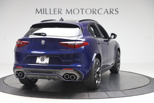 New 2020 Alfa Romeo Stelvio Quadrifoglio for sale $88,845 at Maserati of Greenwich in Greenwich CT 06830 7