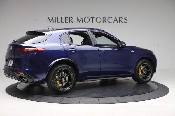New 2020 Alfa Romeo Stelvio Quadrifoglio for sale $88,845 at Maserati of Greenwich in Greenwich CT 06830 8