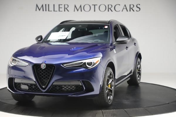 New 2020 Alfa Romeo Stelvio Quadrifoglio for sale $88,845 at Maserati of Greenwich in Greenwich CT 06830 1