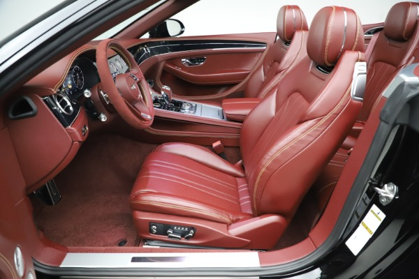 New 2020 Bentley Continental GTC Number 1 Edition for sale $331,585 at Maserati of Greenwich in Greenwich CT 06830 27