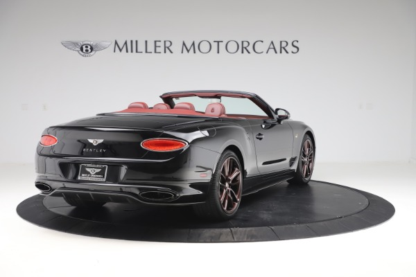 New 2020 Bentley Continental GTC Number 1 Edition for sale $331,585 at Maserati of Greenwich in Greenwich CT 06830 7
