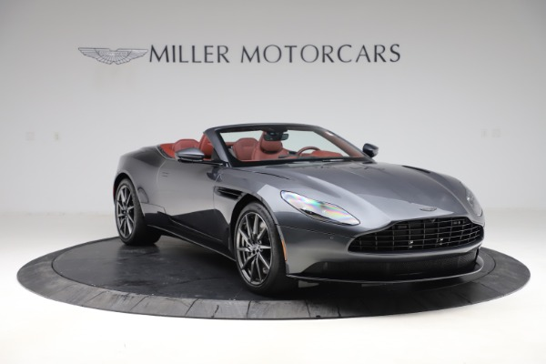 New 2020 Aston Martin DB11 Volante Convertible for sale $263,681 at Maserati of Greenwich in Greenwich CT 06830 12