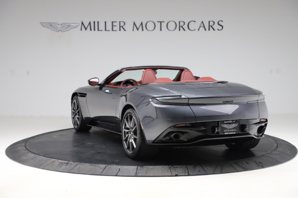 New 2020 Aston Martin DB11 Volante Convertible for sale $263,681 at Maserati of Greenwich in Greenwich CT 06830 6