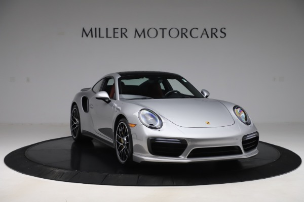 Used 2017 Porsche 911 Turbo S for sale $154,900 at Maserati of Greenwich in Greenwich CT 06830 11