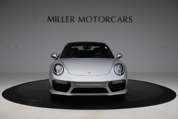 Used 2017 Porsche 911 Turbo S for sale $154,900 at Maserati of Greenwich in Greenwich CT 06830 12